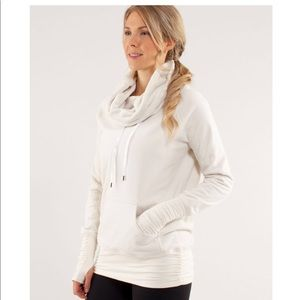 Lululemon Cream Don't Hurry Be Happy Pullover